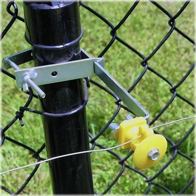 Fi-Shock Chain Link Fence Extension Bracket Insulator