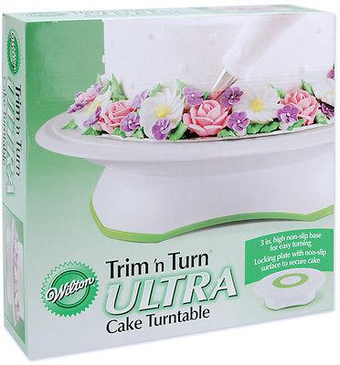 Trim n Turn Ultra Cake Turntable-12 Inch Round 070896373014