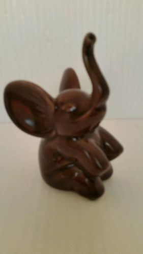 Elephant Ring Holder perfect jewelry ring and braclete holder Brown