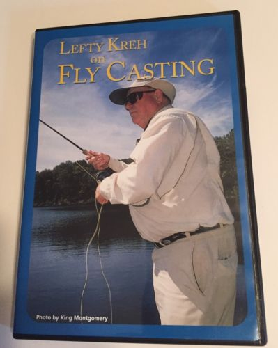 Lefty Kreh On Fly Casting DVD 2004 Excellent Condition Fishing Guide Casting