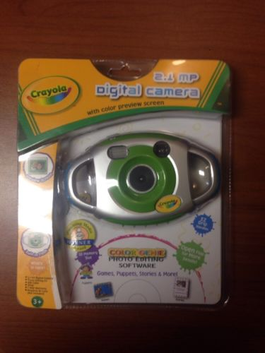 Crayola-  kids Digital Camera 2.1 mp with color preview in box