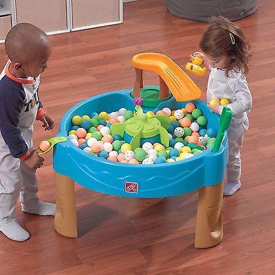 Water Table Sadbox Kids Toddler Splash Play Set Sand Toy Outdoor Activity Game