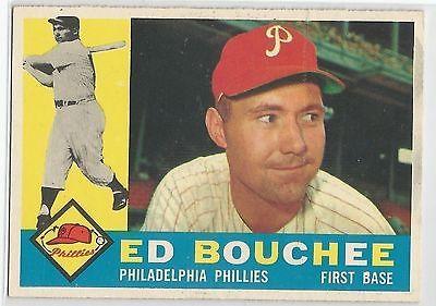 1960 Topps Baseball #347 Ed Bouchee, Phillies