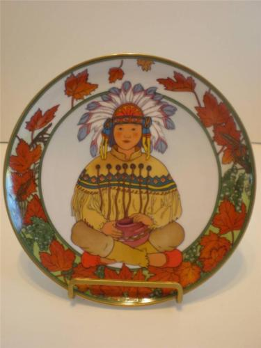 United States UNICEF Plate Children of the World Villeroy Boch