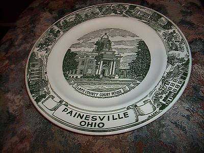 KETTLESPRINGS KILNS PAINESVILLE OHIO LAKE COUNTY COURT HOUSE Decorative plate