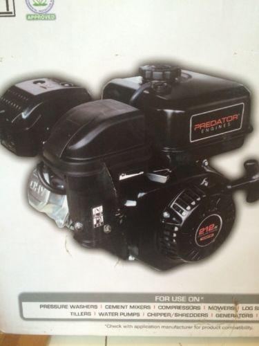 6.5 HP 212cc OHV Horizontal Shaft Gas Engine MiniBike Go Cart Snowblower Sealed