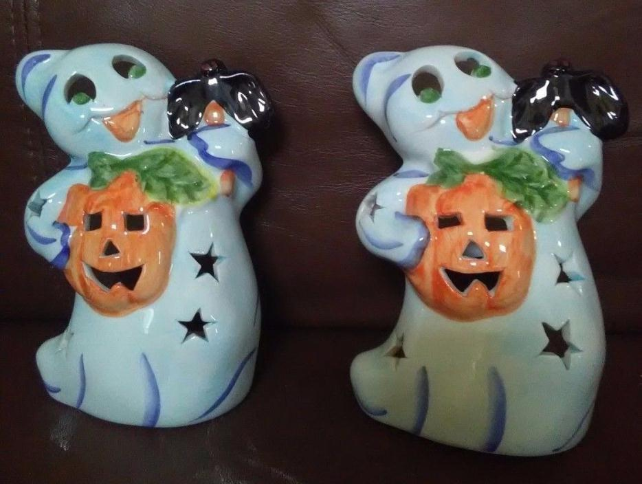 Ghost Votive Candle Holder Set of Two
