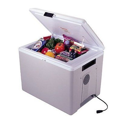Electric Cooler Travel Chest Iceless Portable RV Car Refrigerator Warmer Camping