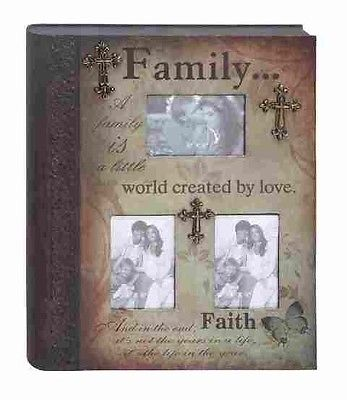 Benzara 34784 Metal Book Photo Frame Wall Decor With Family Statement. Brand New