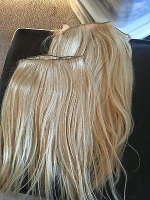 PLATINUM BLONDE 18' HUMAN HAIR EXTENSIONS