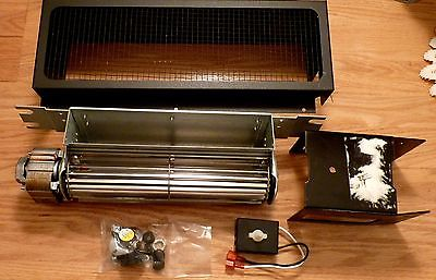 Vent Fireplace Blower Squirrel Cage Fan Kit Variable Speed 55416.30250B 45/10