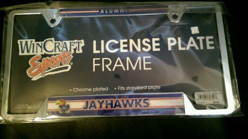 University of Kansas Alumni License Plate Frame