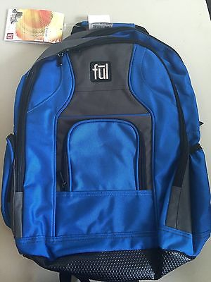 Ful Sweet Mel Daypack Blue New With Tags Organizer