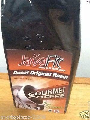 Youngevity JavaFit 8 oz Gourmet Decaf Coffee Ground 100%  Arabica Coffee