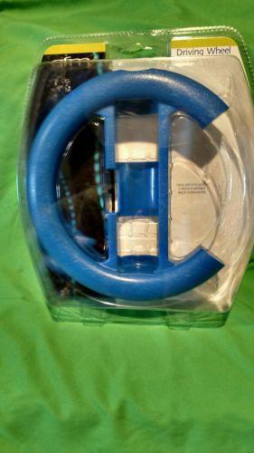 Nintendo Wii Blue Driving Wheel by GFM New In Package