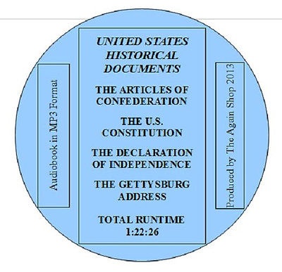 MP3 Audiobook-United States Historical Documents