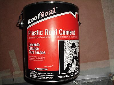 ROOF SEAL PLASTIC ROOF CEMENT 1 GAL