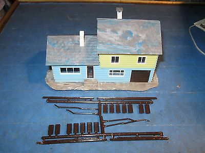 Old Atlas House and Log Cabin Kit