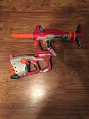 Nerf N-Strike Titan AS-V.1 and Hornet AS-6 Blasters