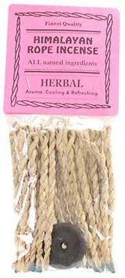 Herbal himalayan rope incense 20 ropes
