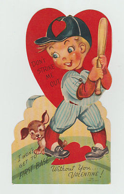 Mechanical Vintage Valentine, Slugger