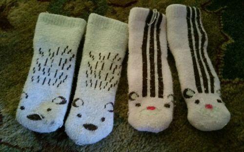 Gymboree newborn knee socks 2 pairs
