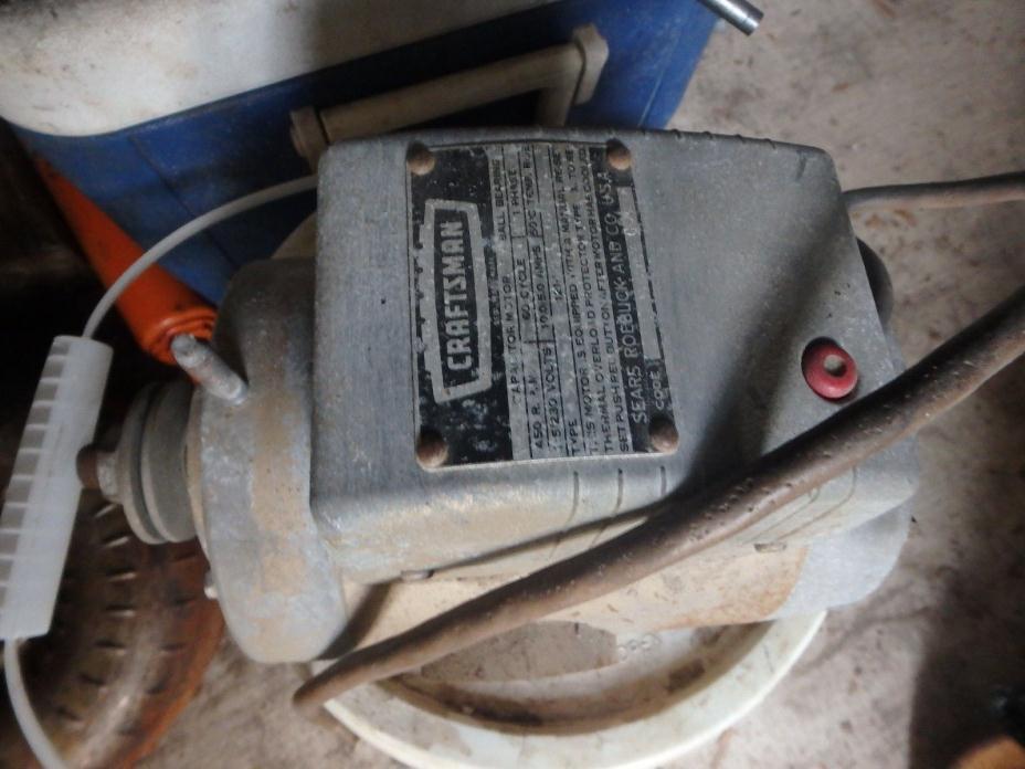 Craftsman saw motor