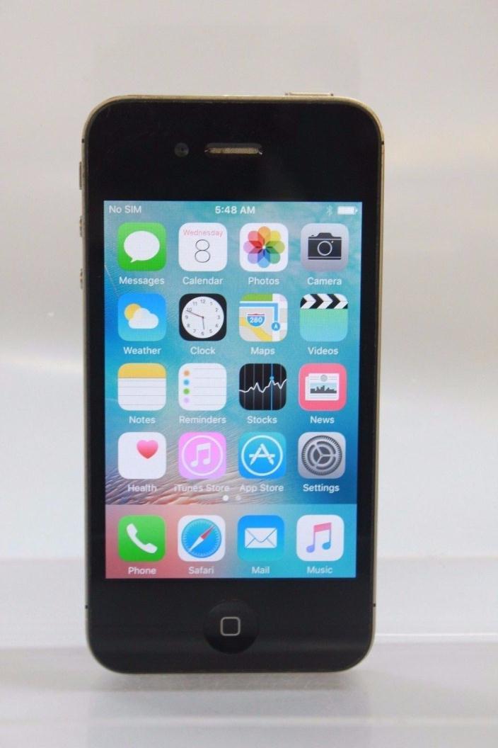 Apple iPhone 4s - 32GB - Black (AT&T) Smartphone (23-12G)