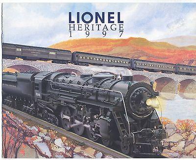 Lionel Heritage 1997  Catalog
