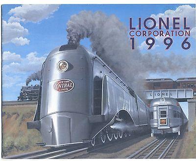 Lionel 1996 Catalog