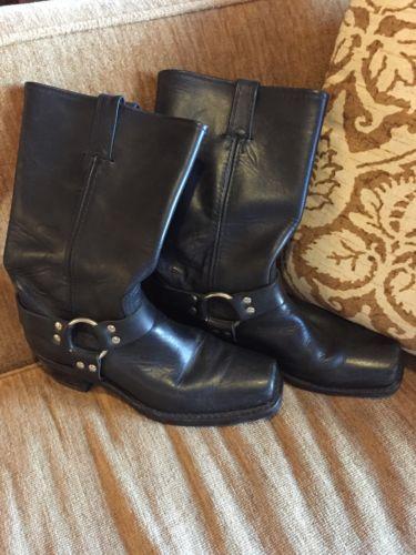 Ladies Frye Engineer Boots Campus Size 10 Euc