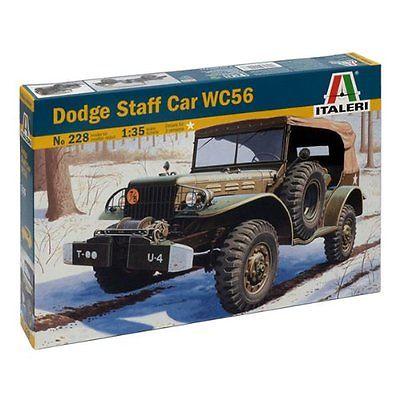ITALERI No. 228 - Dodge Staff Car WC56 - 1:35 SCALE Skill Level 3