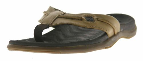 Men's Sperry Top-Sider Baitfish Brown Sandals 8 M