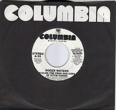 ROGER WATERS  5:01 AM (Pros And Cons Of Hitch Hiking) rare promo 45  PINK FLOYD
