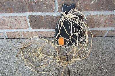 Black Cat Halloween Wood Figurine Handcrafted Distressed Home Decor