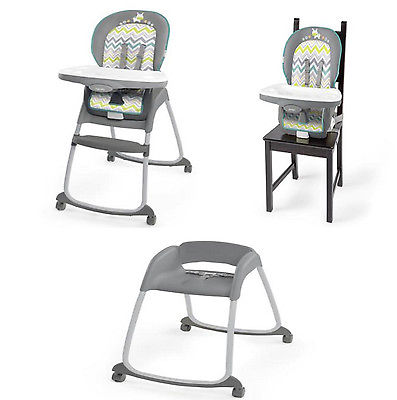 High Chair Booster Set 3 In 1 Infant Toddler Baby Feeding Innovative Design New