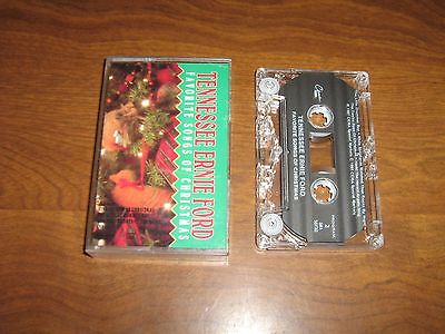 Favorite Songs of Christmas by Tennessee Ernie Ford (Cassette, Nov-1995, CEMA)