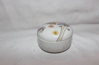 3'' Crystal Trinket holder with lid
