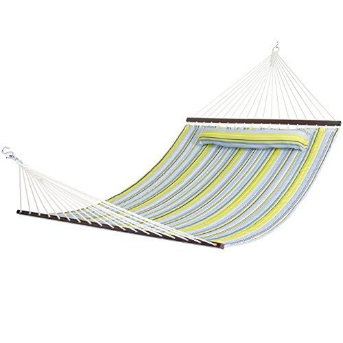 Hammocks Pillow Double Quality Patio Furniture Garden Outdoor Living Picnnic