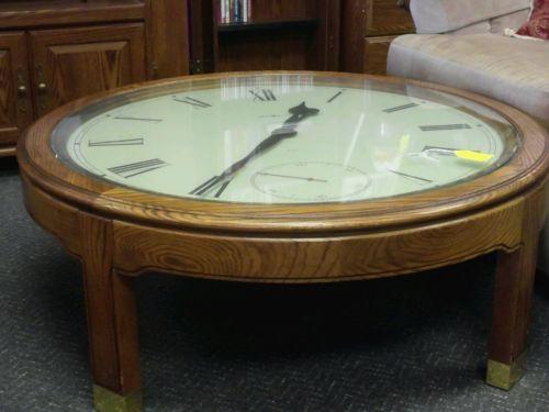 Howard Miller Quartz clock table