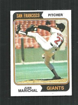 1974 TOPPS #330 JUAN MARICHAL-    SET BREAK   -   NM