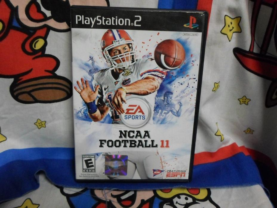 Playstation 2 NCAA Football 11 Game COMPLETE PS2