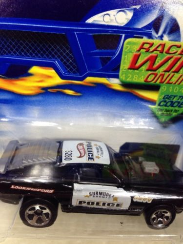 Hot Wheels MUSTANG MACH 1 POLICE Free Shipping !!