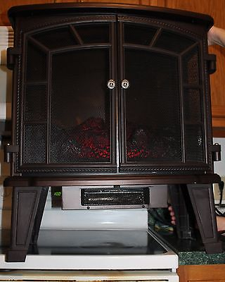 Duraflame dfs-950-6 Indoor Portable Electric Fireplace Space Heater