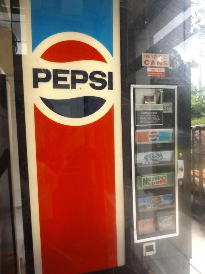 VINTAGE PEPSI-COLA VENDING MACHINE - WORKS