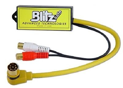 Blitzsafe CHY/AUX DMX V.1A Aux Input Interface  1999-2001 Chrysler Plymouth Jeep