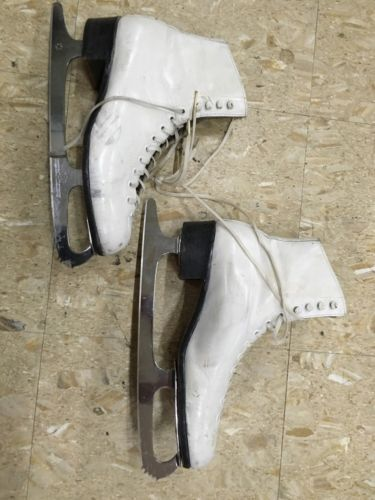 Vintage Riedell Womens Size 8 Figure Ice Skating Skates
