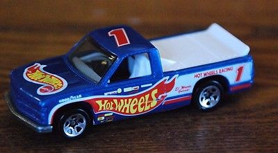 Hot Wheels 1996 Chevy 1500 Racing Truck, Mint,1/64