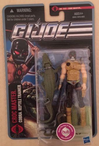 Gi Joe POC Pursuit Of Cobra Croc Master Crocmaster Moc
