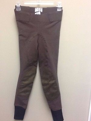 Tuff Rider Ladies Super Fit Pull On tights Chocolate by JPC Equestrain NWT